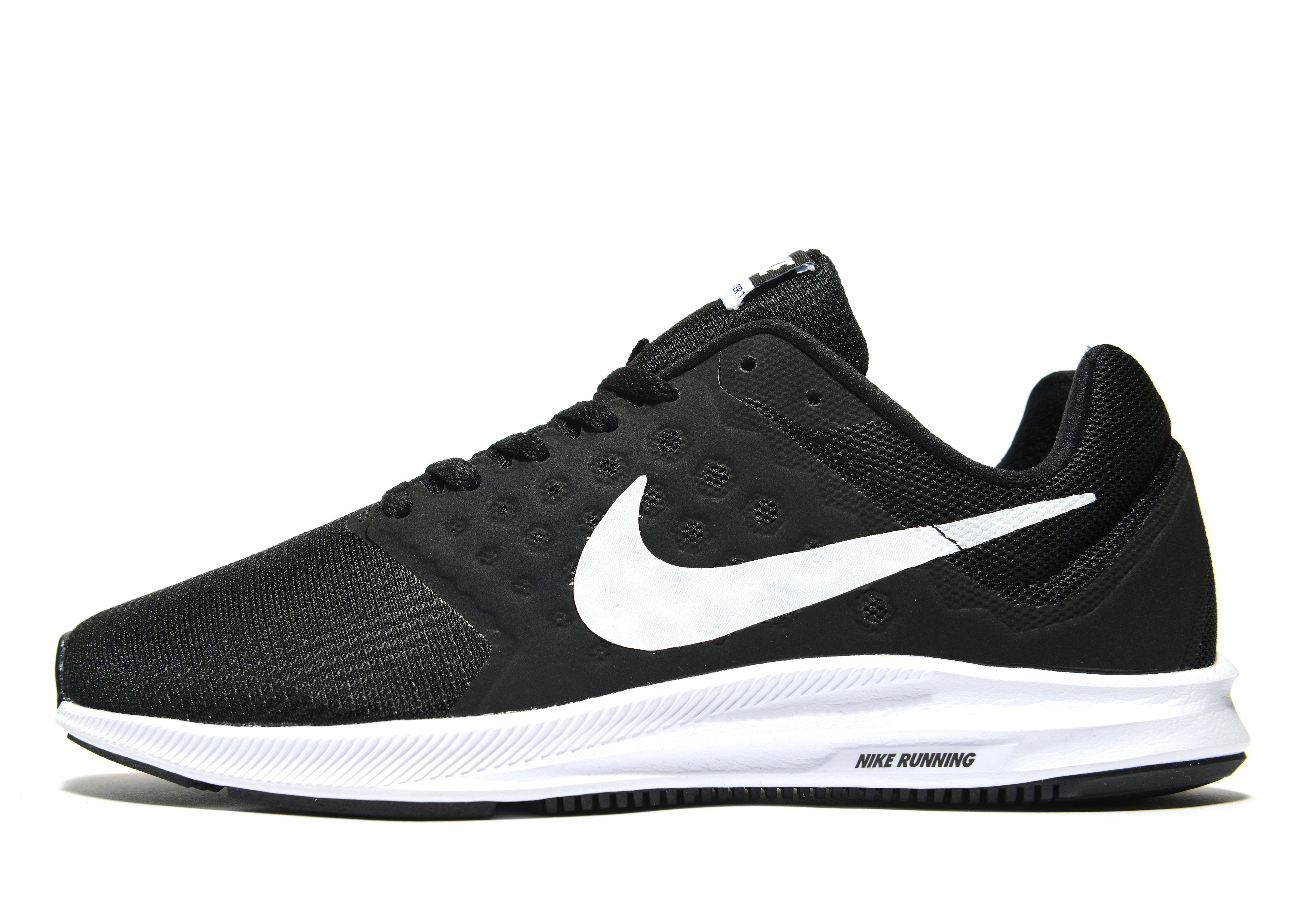 black nike running shoes
