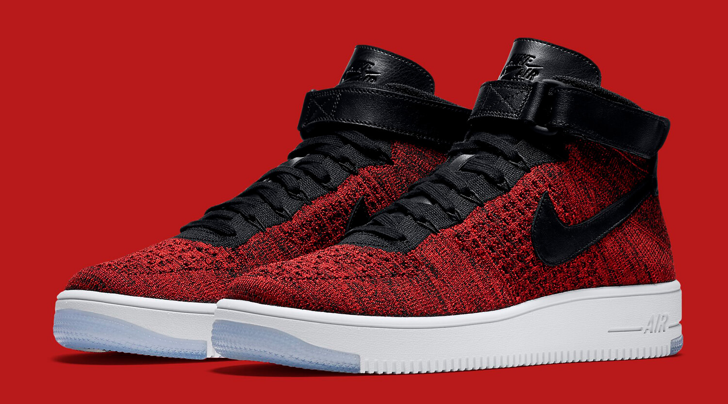 nike air force 1 flyknit high homme