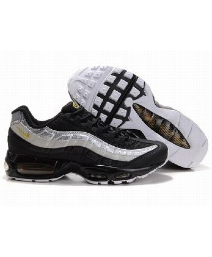nike air max black and gold trainers